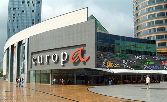 Торговые центры Вильнюса